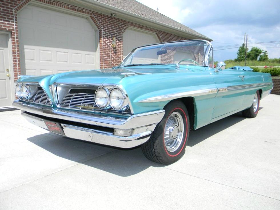 1961 Pontiac Bonneville Convertible Martin's Classic Cars