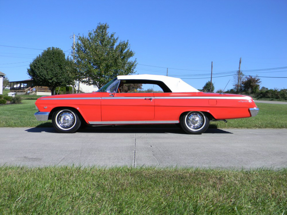 1962 Chevy Impala Convertible SS Martin's Classic Cars