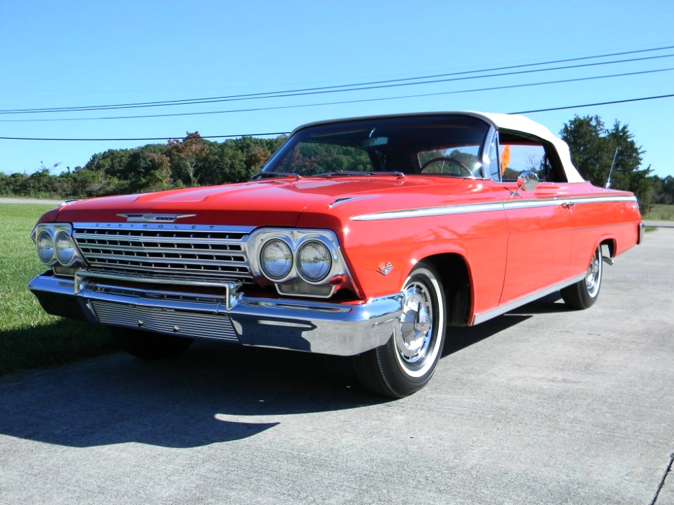 1962 Chevy Impala SS Convertible Martin's Classic Cars